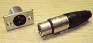 Stecker für Rock-Ola Stereo-Verstärker