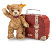Carlo Teddy Bear with suitcase