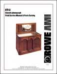 Service Manual Rowe/AMI CTI-2