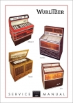 Service Manual Modelle 1974
