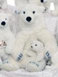 "Polar Bear ""Lasse"", sitting"