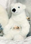 "Polar Bear ""Linn"", sitting"