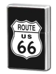 "Petrol lighter ""Route 66"" logo"""