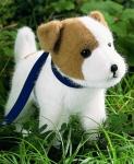 """Jack Russel Terrier """"Rusty"""", stehend"""