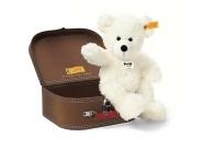 Lotte Teddybär mit braunem Koffer