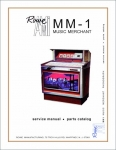 Service Manual Rowe/AMI MM-1