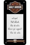 """Notizblock-Schild """"Harley Davidson"""""""