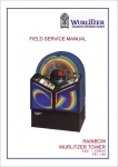 Field Service Manual Wurlitzer Rainbow