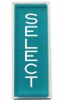 "Instruction plastic ""SELECT"", turquoise"