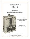 Service Manual No. 4 Seeburg Remote Control Systems