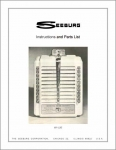 Service Manual Seeburg W1-L56