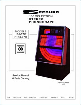 Service Manual Seeburg 100-77D