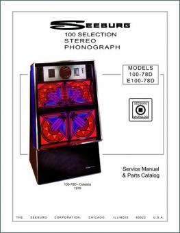 Service Manual Seeburg 100-78D