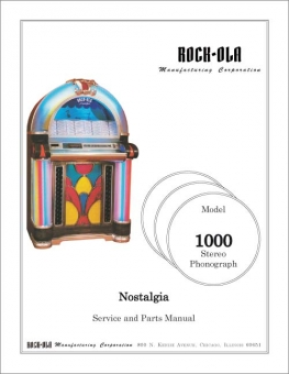 Service Manual Rock-Ola 1000