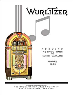 Service Manual Wurlitzer 1015