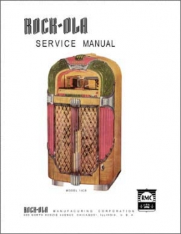 Service Manual Rock-Ola 1428