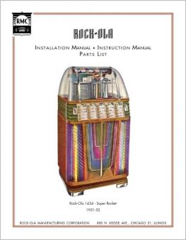 Service Manual Rock-Ola 1434