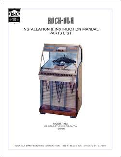 Service Manual Rock-Ola 1452