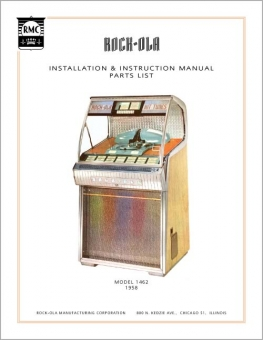 Service Manual Rock-Ola 1462