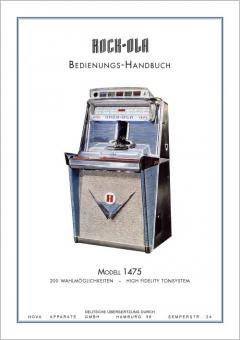 Bedienungshandbuch 1468ST or 1475ST, German