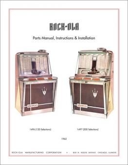 Service Manual Rock-Ola 1496 und 1497