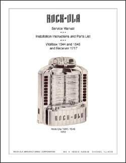 Service Manual Rock-Ola 1544, 1546 & 1717