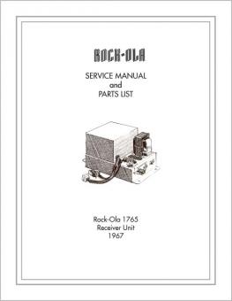 Service Manual Stepper 1765