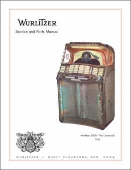 Service Manual Wurlitzer 2000