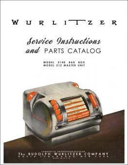 Service Manual Wurlitzer 2140 Bar Box