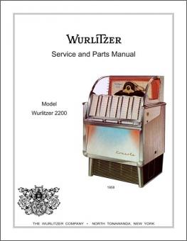 Service Manual Wurlitzer 2200