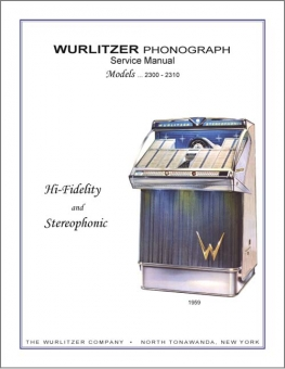 Service Manual Wurlitzer 2300, 2310