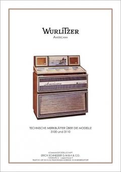 Technische Merkblätter Wurlitzer 3100, 3110