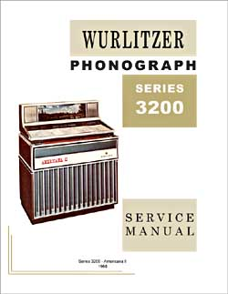 Service Manual Wurlitzer 3200