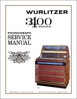 Service Manual Wurlitzer 3400