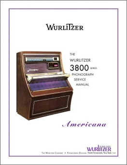 Service Manual Wurlitzer 3800