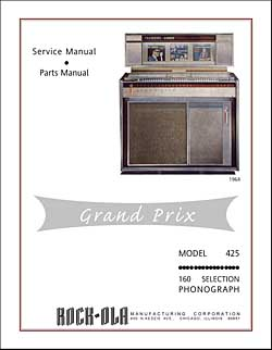 Service Manual Rock-Ola 425