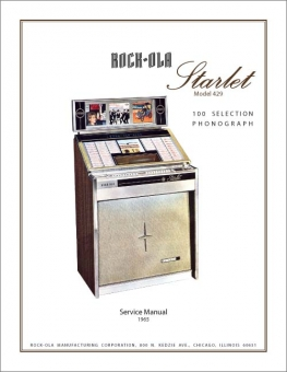 Service Manual Rock-Ola 429