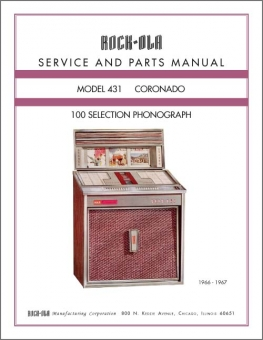 Service Manual Rock-Ola 431