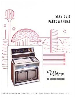 Service Manual Rock-Ola 437