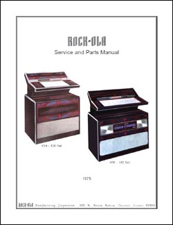 Service Manual Rock-Ola 459 und 460