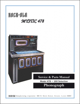 Service Manual Rock-Ola 478