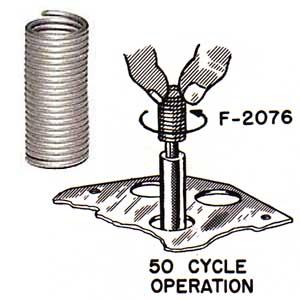 Spiralfeder 50 Hz