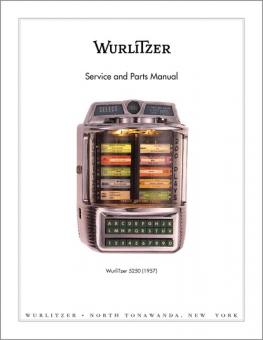 Service Manual Wurlitzer 5250