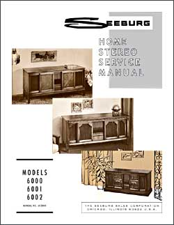 Service Manual Seeburg 6000, 6001, 6002