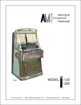 Service Manual AMI I I-120, I-200: Tastenwahl
