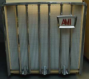 Grill screen AMI J, anodized