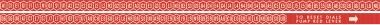 Popularity meter letter and number strip V200