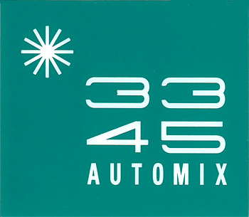 AUTOMIX card, turqouise