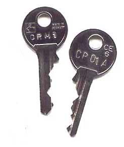 Bergmann cabinet key