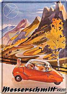 """Postcard """"Messerschmitt"""""""